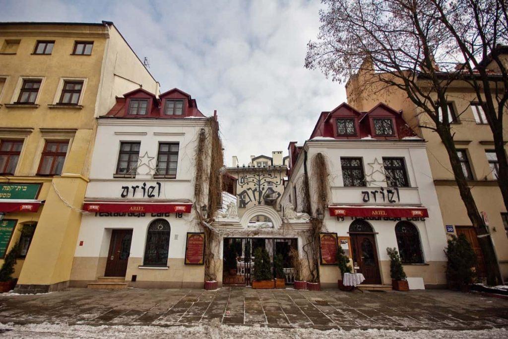 szeroka street, jewish krakow
