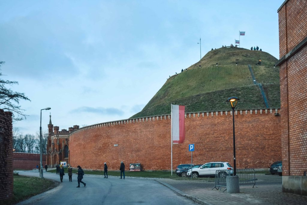 kosciuszko mound, krakow mounds